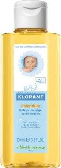 Olej masážní dětský Klorane Bébé