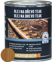 Olej na dřevo Hornbach
