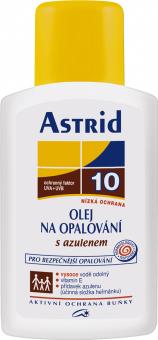 Olej na opalování s azulenem OF 10 Astrid