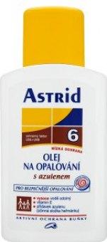 Olej na opalování s azulenem OF 6 Astrid