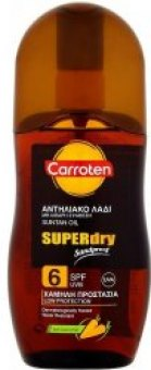 Olej na opalování suchý OF 6 Carroten