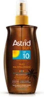 Olej na opalování ve spreji OF 10 Astrid Sun