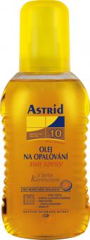 Olej na opalování ve spreji OF 10 Astrid