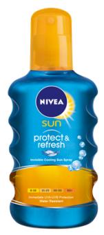 Olej na opalování ve spreji OF 10 Protect&Refresh Sun Nivea