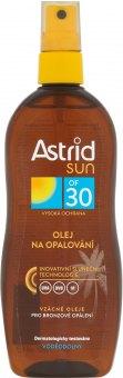 Olej na opalování ve spreji OF 30 Astrid Sun