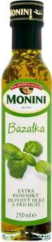 Olivový olej extra panenský ochucený Monini