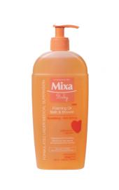 Olej pěnivý do sprchy i koupele Baby Mixa
