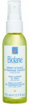 Olej pro snadné rozčesání vlasů ve spreji Biolane
