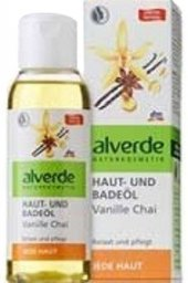 Olej relaxační masážní a koupelový s vanilkou a indickým čajem Alverde