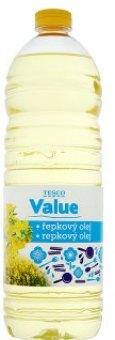 Řepkový olej Tesco Value