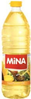 Slunečnicový olej Mina