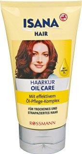 Olejová kúra na vlasy Isana