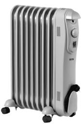 Olejový radiátor ECG