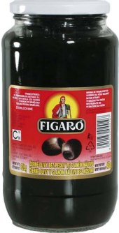Olivy černé Figaro