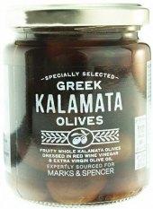 Olivy černé Kalamata Marks & Spencer