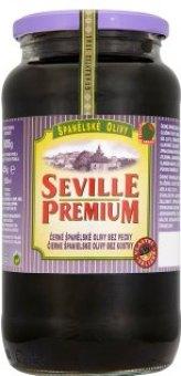 Olivy černé Seville Premium