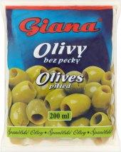 Olivy zelené Giana
