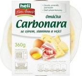Omáčka carbonara se sýrem, slaninou a vejci Con Amore Heli