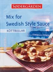 Omáčka k masovým kuličkám Sodergärden