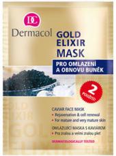 Maska pleťová omlazující Gold Elixír Dermacol