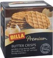 Oplatky křupavé máslové Premium Billa