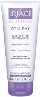 Intimní gel osvěžující Gyn PHY Moussant Uriage