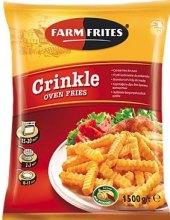 Hranolky vlnky mražené Oven Crincles Farm Frites