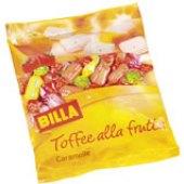 Karamelky ovocné Billa