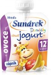 Ovocné pyré s jogurtem Do ručičky Sunárek