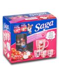 Čaj ovocný s hrníčkem Saga - dárková sada