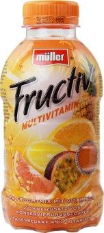 Nápoj ovocný Fructiv mix Müller