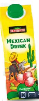 Šťáva ovocná Mexican drink El Tequito