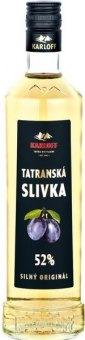 Pálenka Slivka Tatranská Karloff