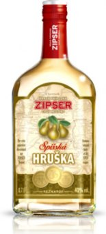 Pálenka Spišská hruška Zipser