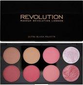 Paleta tvářenek Blush Palette Revolution