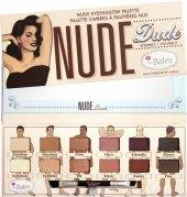 Paletka očních stínů Nude-dude theBalm