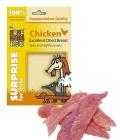 Pamlsky pro psy Sušené maso Superpremium Huhubamboo