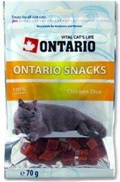 Pamlsky pro kočky kostky Ontario