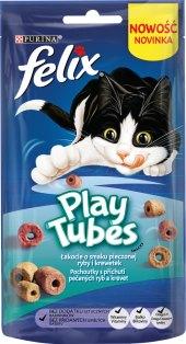 Pamlsky pro kočky Play Tubes Felix Purina