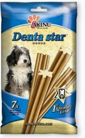 Pamlsky pro psy Denta Star Akinu