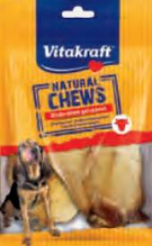 Pamlsky pro psy hovězí sušené ucho Vitakraft