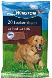 Pamlsky pro psy žvýkací plátky Winston