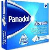 Tablety proti horečce a bolesti Novum Panadol