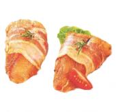 Pangas ve slanině