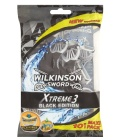 Holítka jednorázová pánská Black Xtreme 3 Wilkinson