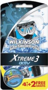 Holítka jednorázová pánská Activ Xtreme 3 Wilkinson