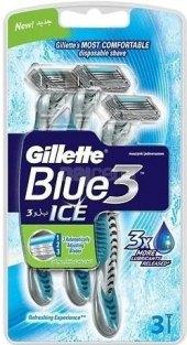 Jednorázová holítka pánská Ice Gillette Blue 3