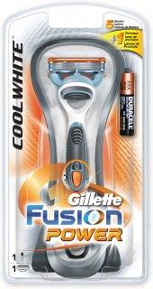 Holicí strojek pánský Cool White Power Gillette Fusion