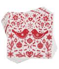 Papírové ubrousky Vánoční Alouette