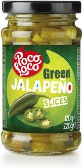 Papričky zelené Jalapeňo Poco Loco